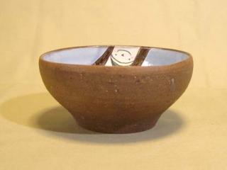 トルコ青中鉢