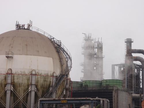 東燃ゼネラル石油川崎工場 プラント