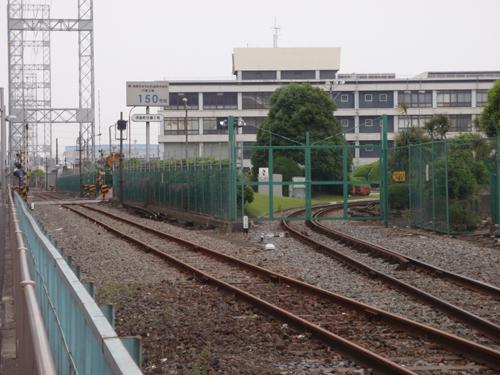 神奈川臨海鉄道 工場引き込み線