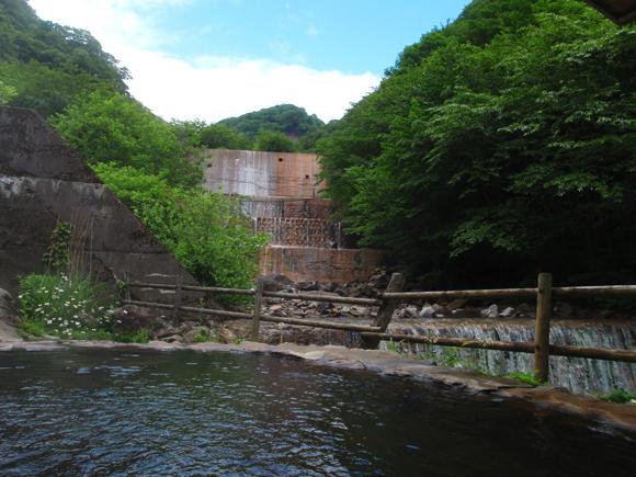 北温泉旅館 河原の湯