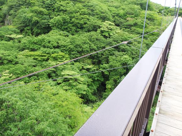北温泉旅館 つつじ吊橋