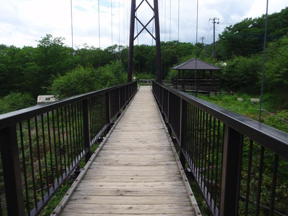那須高原 つつじ吊橋
