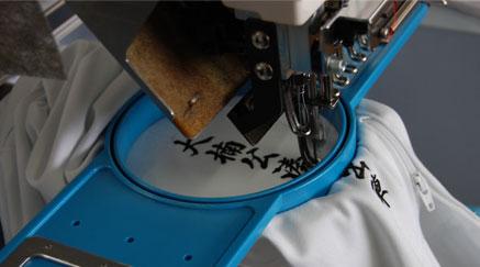 刺繍加工風景