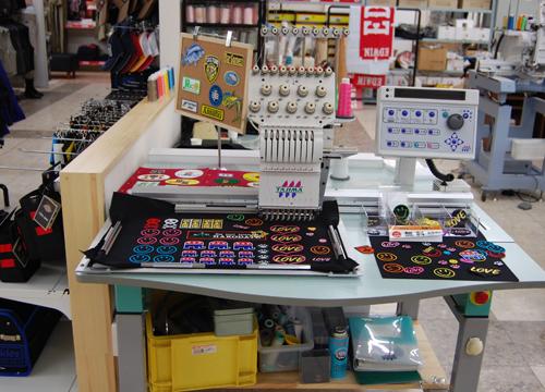 オオタ 港店 オープン 刺繍 ワッペン
