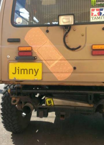 ジムニー ステッカー