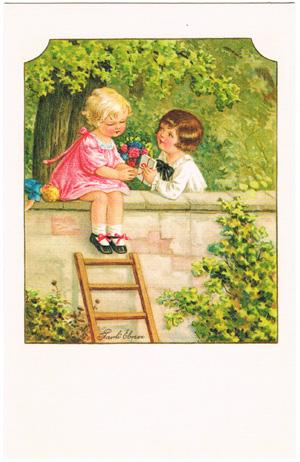 パウリ・エブナー Pauli Ebner ドイツ製ポストカード
