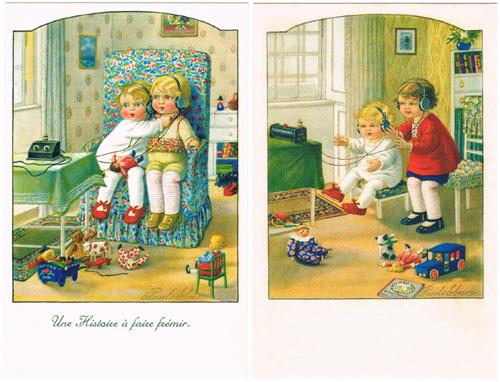 パウリ・エブナー Pauli Ebner ドイツポストカード