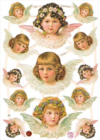 天使のクロモス(Chromos) ドイツ製