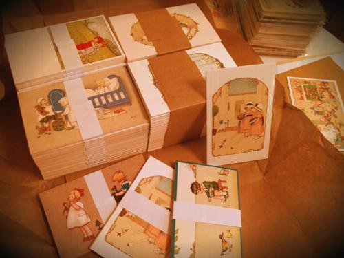 フランスからアンティークの復刻版ポストカードが届きました!