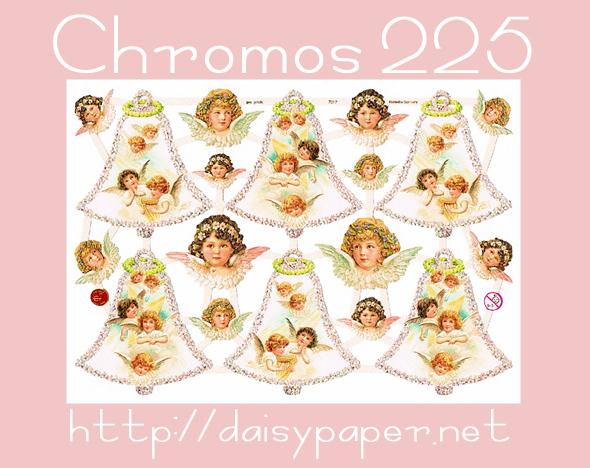 chromos225【DAISY】ドイツ製・イギリス製クロモスが225種類になりました!