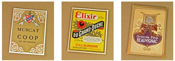 Vintage ワインラベル【DAISY】ヴィンテージ、リキュールラベル、ビンテージ、フランス、France、コラージュ、スクラップブッキング、アンティーク