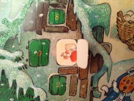 Advent calendar、フリッツ・バウムガルテン、クリスマスカレンダー、クリスマス、天使、妖精