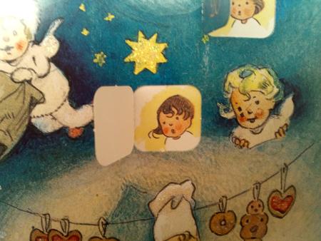 ドイツ、Advent calendar、フリッツ・バウムガルテン、クリスマスカレンダー、クリスマス、天使、妖精、Germany