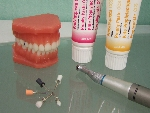 歯のクリーニング(PMTC)の用具