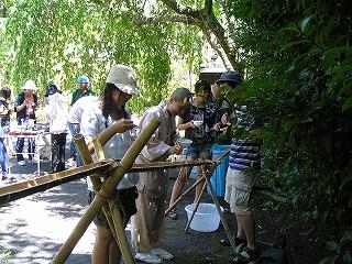 2011_0717流しソーメン1