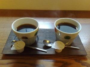 らくや 食後のコーヒー