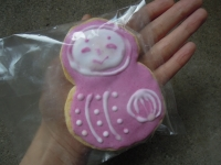 ひめだるまクッキー