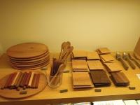 工人 木の器 カトラリー