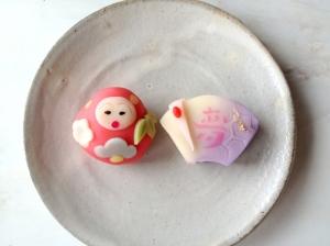 だるま 上生菓子