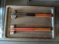名雪園代 漆の箸