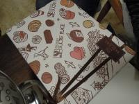お菓子店 包装紙