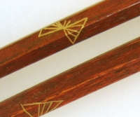 山岸紗綾 蒔絵の箸