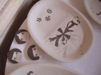 スズキサト 窯入れ 陶芸