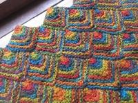 chahat 麻糸 編み物