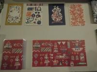 関美穂子 型染め ポストカード