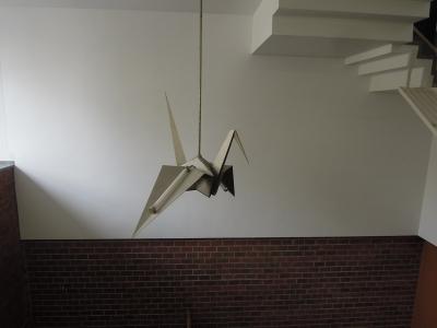 折り鶴のライト