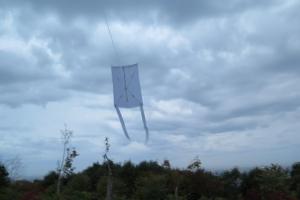 冬の友 カメリアーノ 凧づくり