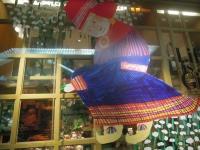伊勢丹 ミロコマチコ クリスマス装飾