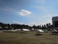 春ららら市 テント
