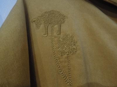 エタブル 金沢 山猫軒 岩本工房 刺繍