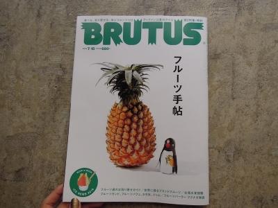 BRUTUS フルーツ手帖