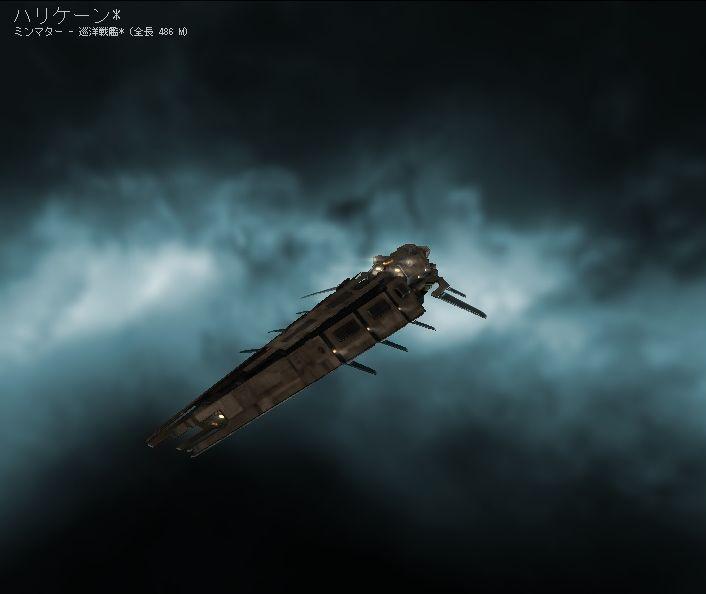 ミンマター巡洋戦艦ハリケーン Minmatar Battlecruisers Hurricane