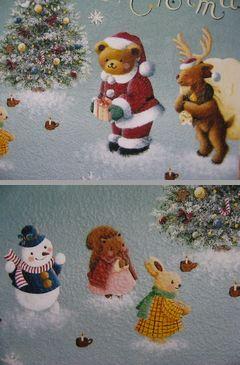 クリスマスのプレート