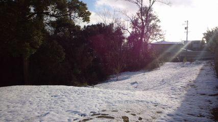 雪の日の景色