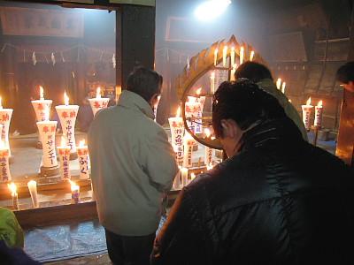 能生白山神社 献蝋祭2