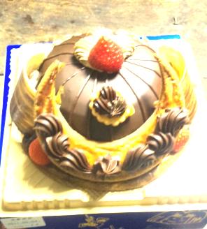 こどもの日かぶとケーキ