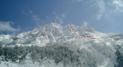 八ヶ岳・赤岳西壁主稜