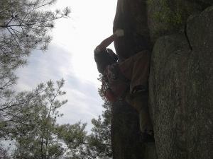 窓ヶ岳 クライミング