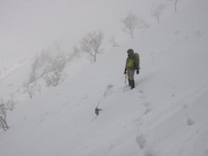 大山6合目避難小屋