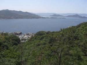 呉市天応(烏帽子岩山)