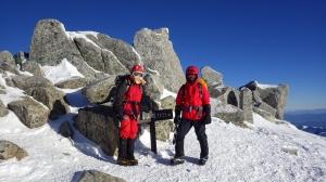 中岳(2925m)
