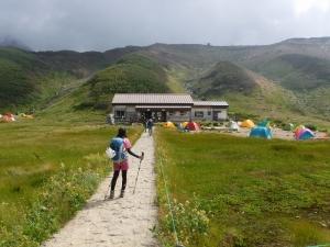 雷鳥平キャンプ場