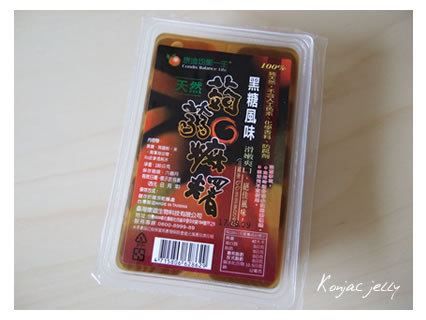 Konjac jelly