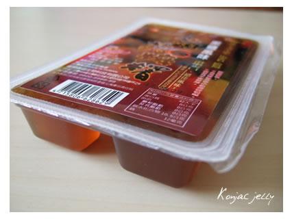 Konjac jelly