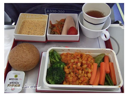 ChinaAirLineMeal