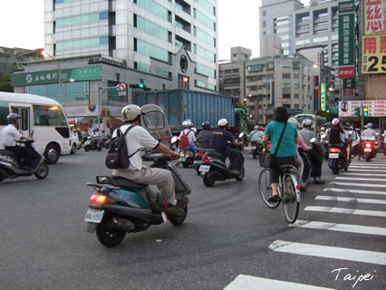 台北のバイク